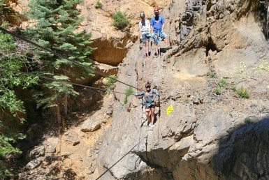 Atha Team Via Ferrata Ouray Colorado - Atha Team Blog