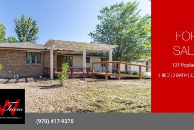 Country Oasis for Sale with Irrigation and RV Parking - 121 Poplar Ct Montrose, CO