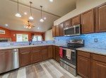 Kitchen with Custom Lighting - 1300 Gold Creek Montrose, CO 81403 - Atha Team Property for Sale