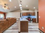 Kitchen with Bar Seating - 1300 Gold Creek Montrose, CO 81403 - Atha Team Property for Sale