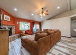 Living Room with Vaulted Ceiling - 1300 Gold Creek Montrose, CO 81403 - Atha Team Property for Sale