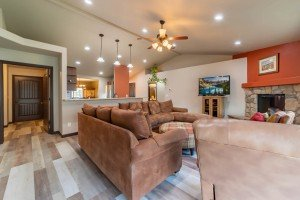 Open Concept Living Area - 1300 Gold Creek Montrose, CO 81403 - Atha Team Property for Sale
