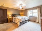 Master Bedroom with Carpeting - 1300 Gold Creek Montrose, CO 81403 - Atha Team Property for Sale
