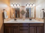 Master Bathroom with Dual Sinks - 1300 Gold Creek Montrose, CO 81403 - Atha Team Property for Sale