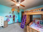 Bedroom with Ceiling fan - 1300 Gold Creek Montrose, CO 81403 - Atha Team Property for Sale
