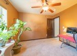 Additional Bedroom with Ceiling Fan - 1300 Gold Creek Montrose, CO 81403 - Atha Team Property for Sale