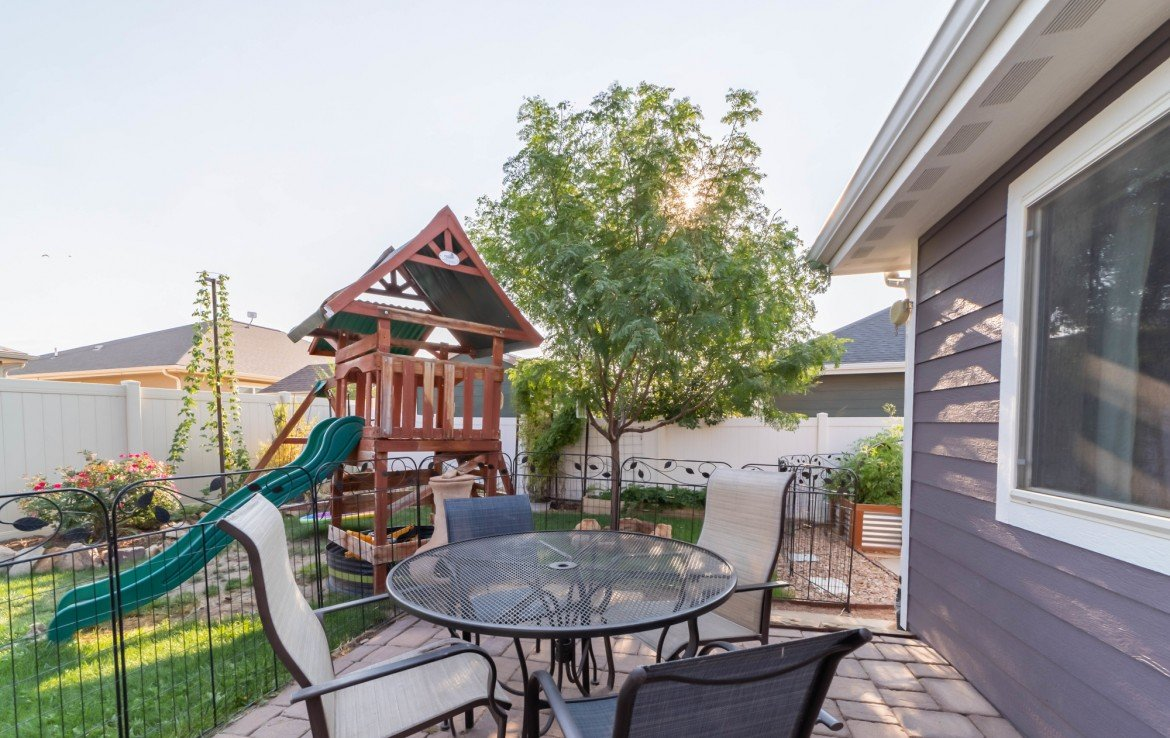 Privacy Fenced Back Yard - 1300 Gold Creek Montrose, CO 81403 - Atha Team Property for Sale