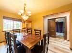 Dining Room with Chandelier - 1300 Gold Creek Montrose, CO 81403 - Atha Team Property for Sale