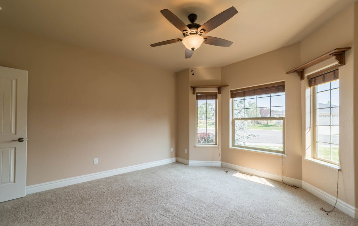 Bedroom with Bay Windows- 641 Badger Ct Montrose, CO 81403 - Atha Team Realty