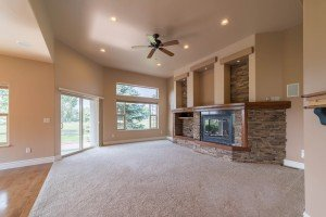 Living Room with 10' Ceilings - 641 Badger Ct Montrose, CO 81403 - Atha Team Realty