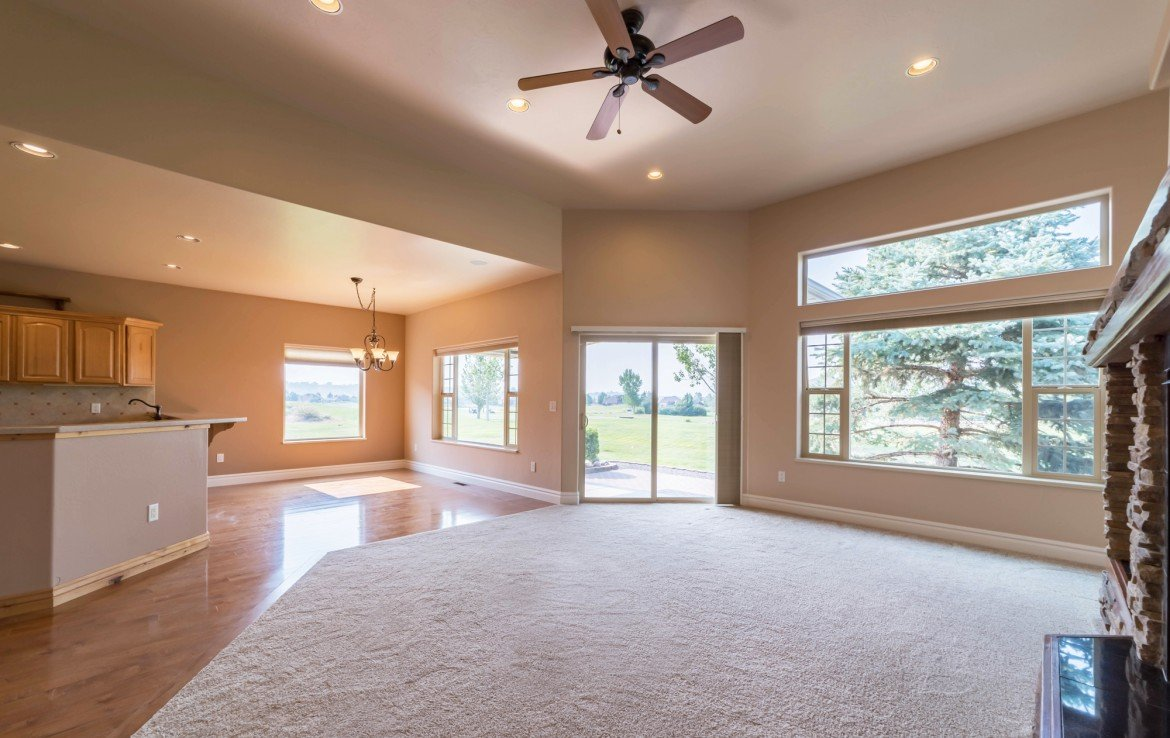 Open Concept Living and Dining - 641 Badger Ct Montrose, CO 81403 - Atha Team Realty