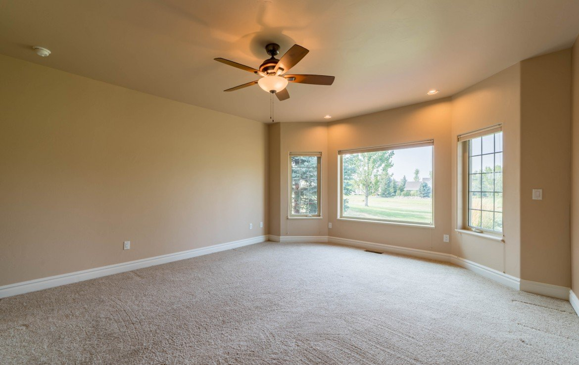 Master Bedroom with Carpet - 641 Badger Ct Montrose, CO 81403 - Atha Team Realty