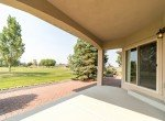 Covered Back Patio and Views - 641 Badger Ct Montrose, CO 81403 - Atha Team Realty