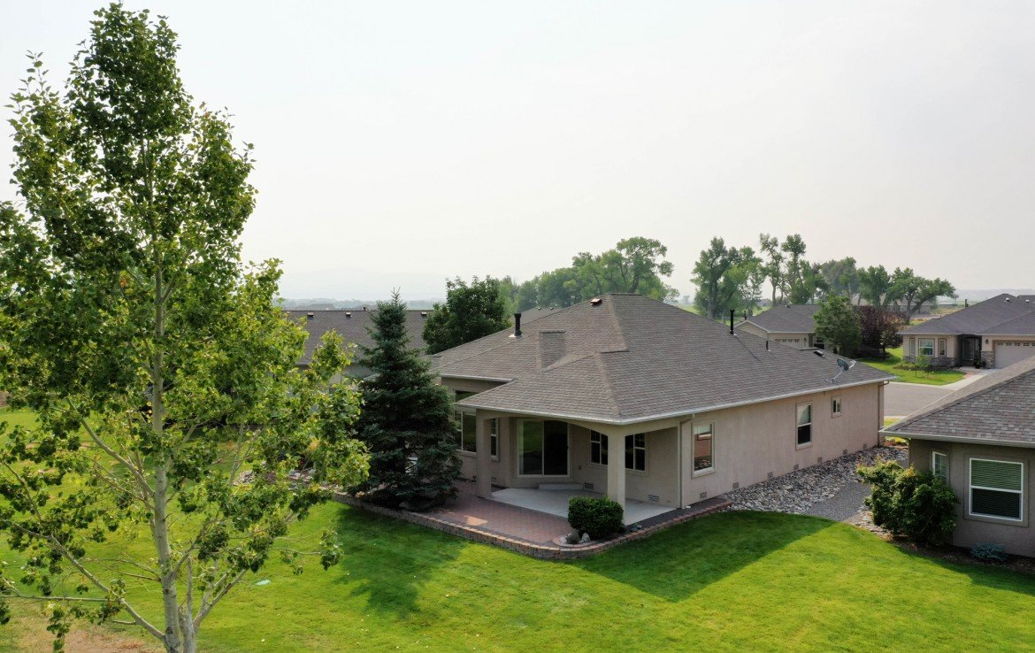 Rear View of Home - 641 Badger Ct Montrose, CO 81403 - Atha Team Realty