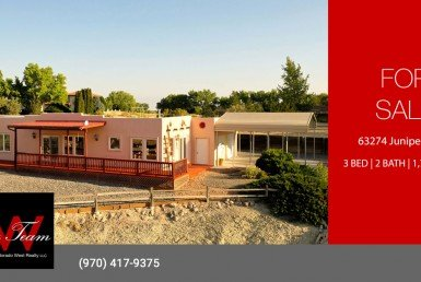 Adobe Home on Large Lot for Sale - 63274 Juniper Rd Montrose, CO 81401 - Atha Team Realty