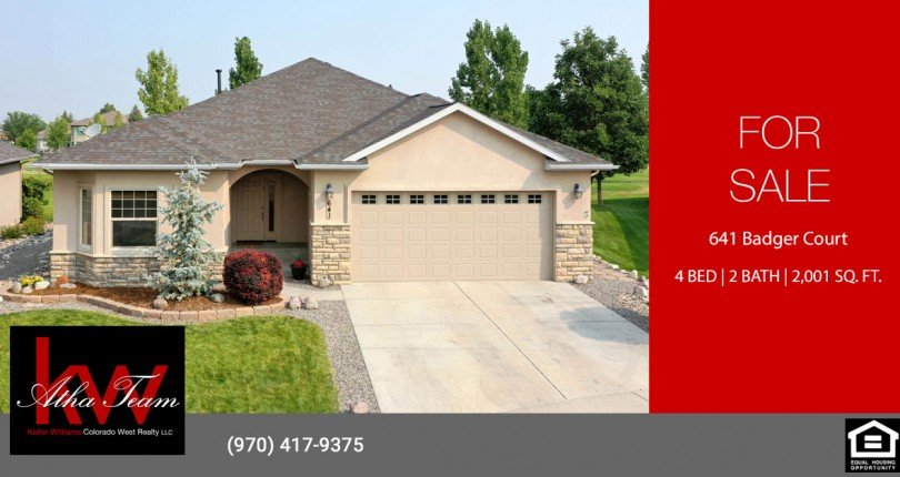 Cobble Creek Lock and Leave Patio Home - 641 Badger Ct Montrose, CO 81403 - Atha Team Realty