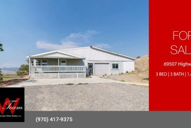 Country Home on 3+ Acres with Irrigation - 69507 Highway 50 Montrose, CO 81401 - Atha Team Real Estate