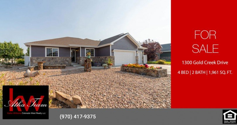 Waterfall Canyon Home for Sale - 1300 Gold Creek Dr Montrose, CO 81403 - Atha Team Real Estate
