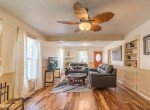 Living Room with Ceiling Fan - 1116 N 1st St Montrose, CO 81401 - Atha Team Real Estate Agents
