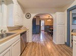 Kitchen with White Cabinets- 1116 N 1st St Montrose, CO 81401 - Atha Team Real Estate Agents
