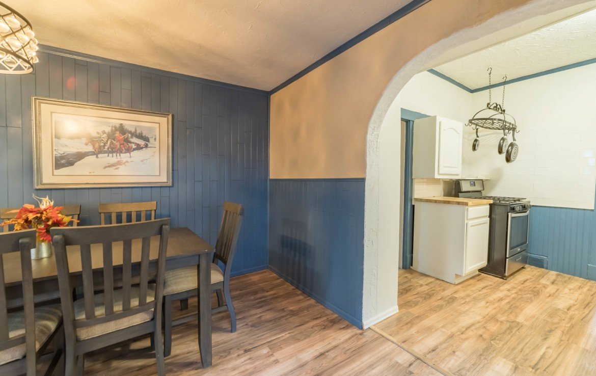 Kitchen and Dining Room - 1116 N 1st St Montrose, CO 81401 - Atha Team Real Estate Agents
