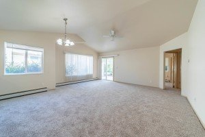 Living Room with Patio Access- 1314 Bighorn St Montrose, CO 81401 - Atha Team Residential Real Estate
