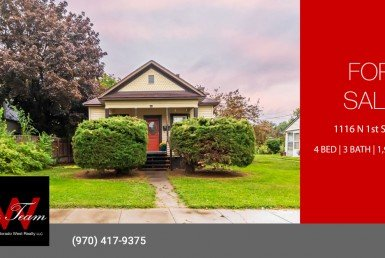 Updated Downtown Montrose Home for Sale - 1116 N 1st St Montrose, CO 81401 - Atha Team Real Estate