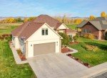 Aerial View of 2 Car Garage - 3865 Grand Mesa Dr Montrose, CO 81403 - Atha Team Realty