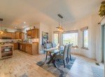 Breakfast Nook Dining with Bay Windows - 3865 Grand Mesa Dr Montrose, CO 81403 - Atha Team Realty