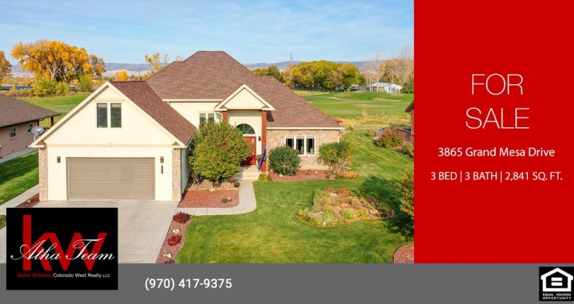 Cobble Creek Home for Sale - 3865 Grand Mesa Dr Montrose, CO 81403 - Atha Team Residential Real Estate