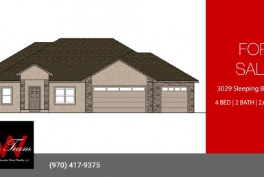 New Construction 4 Bedroom Home for Sale - 3029 Sleeping Bear Rd Montrose, CO - Atha Team Residential Real Estate