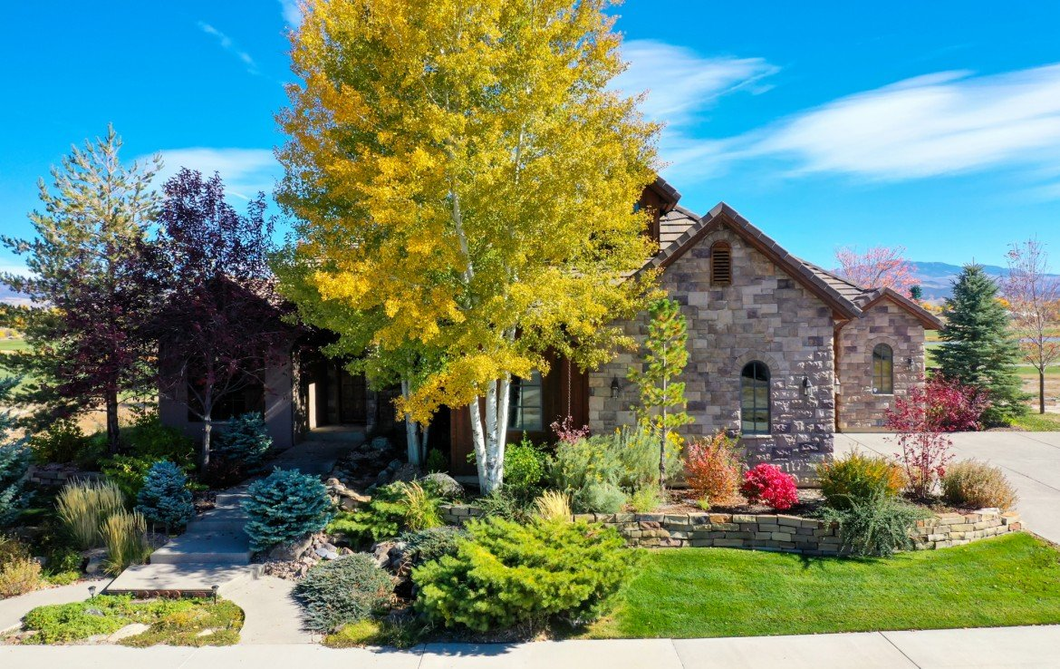 Home with Custom Landscaping - 2839 Sleeping Bear Rd Montrose, CO 81401 - Atha Team Luxury Real Estate