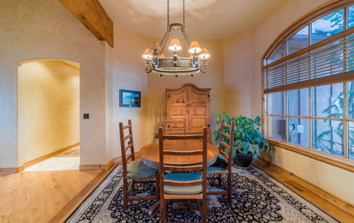 Separate Dining Room - 2839 Sleeping Bear Rd Montrose, CO 81401 - Atha Team Luxury Real Estate