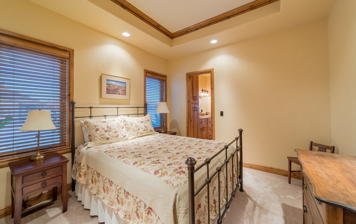 Guest Bedroom with Recessed Lighting - 2839 Sleeping Bear Rd Montrose, CO 81401 - Atha Team Luxury Real Estate