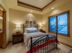Guest Bedroom with Trey Ceiling - 2839 Sleeping Bear Rd Montrose, CO 81401 - Atha Team Luxury Real Estate