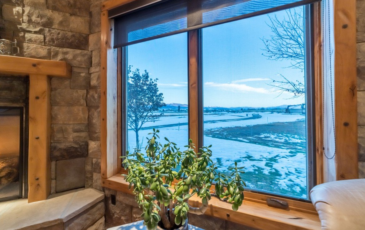 Living Room Views - 2839 Sleeping Bear Rd Montrose, CO 81401 - Atha Team Luxury Real Estate