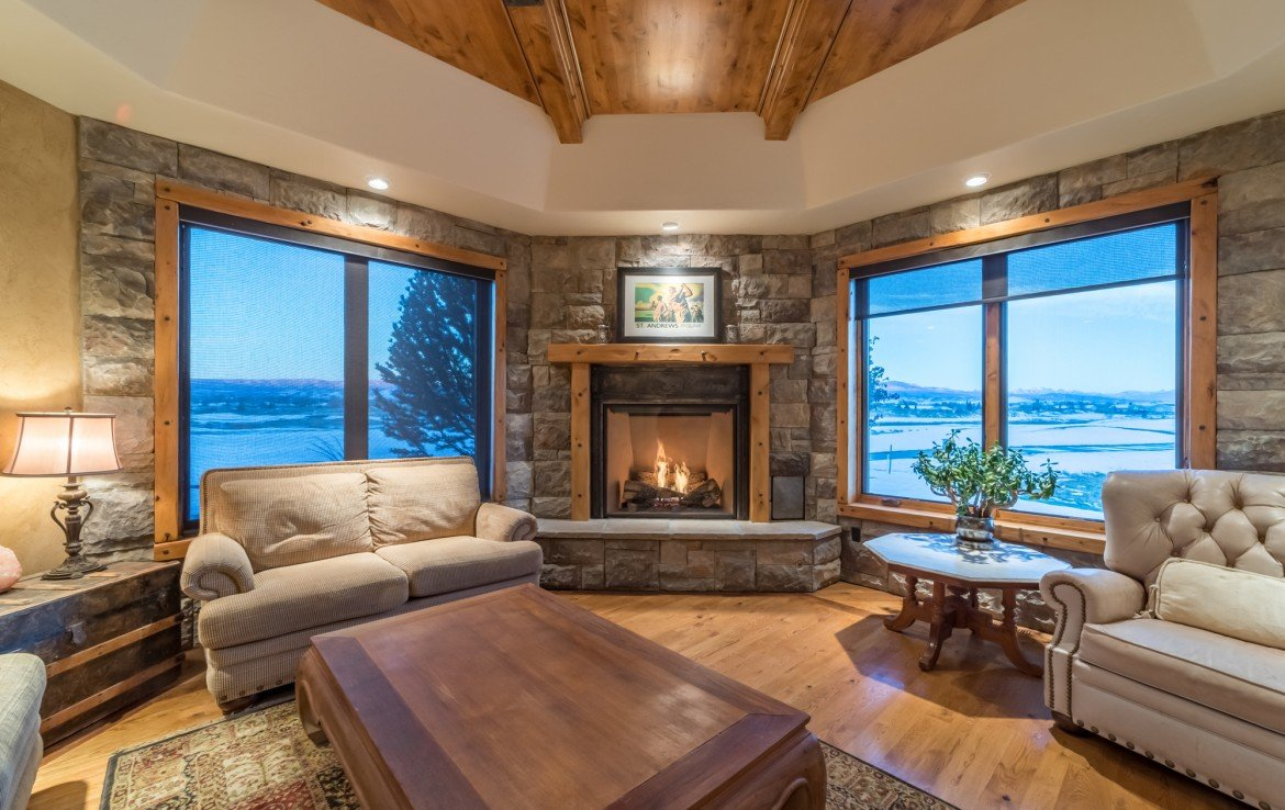 Custom Wood Ceiling - 2839 Sleeping Bear Rd Montrose, CO 81401 - Atha Team Luxury Real Estate