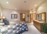 Master Bedroom with Recessed Lighting - 2839 Sleeping Bear Rd Montrose, CO 81401 - Atha Team Luxury Real Estate