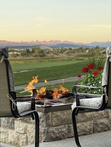 Back Patio with San Juan Mountain Views - 2839 Sleeping Bear Rd Montrose, CO 81401 - Atha Team Luxury Real Estate