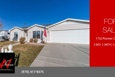 3 Bedroom Home for Sale - 1732 Pioneer Circle Delta, CO 81416 - Atha Team Real Estate Agents