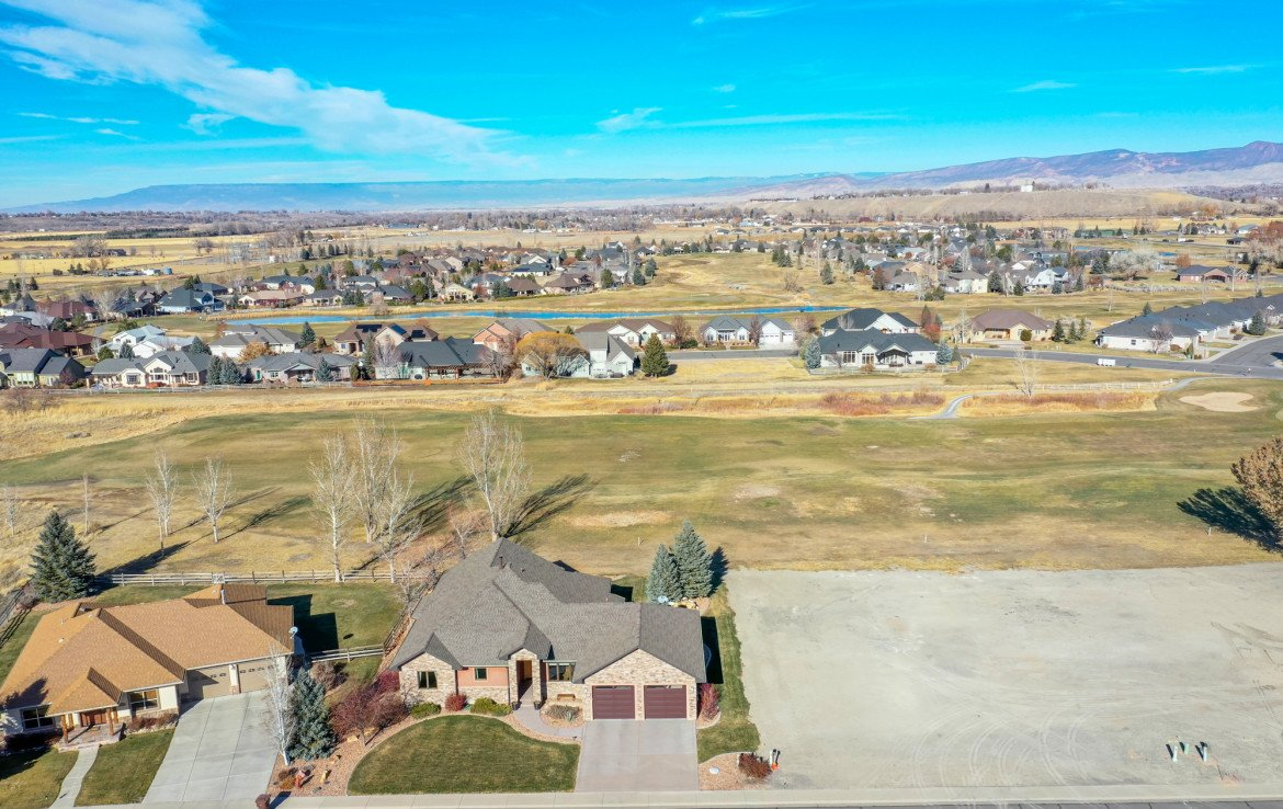 Aerial View North Facing - 491 Collins Way Montrose, CO 81403 - Atha Team Listing