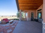 Back Patio with Tongue and Groove Ceiling - 491 Collins Way Montrose, CO 81403 - Atha Team Listing