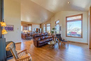 Living Room with Hardwood Flooring - 491 Collins Way Montrose, CO 81403 - Atha Team Listing