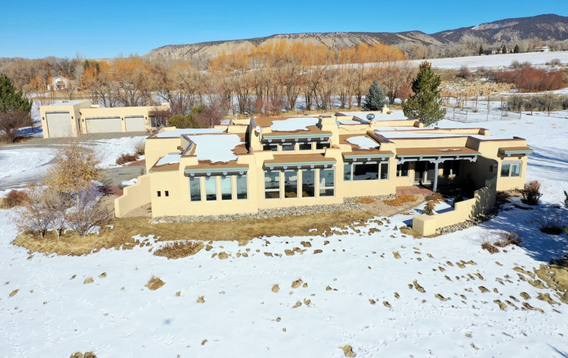 Aerial View of Property for Sale - 23740 7010 Rd Montrose, CO 81403 - Atha Team Realty