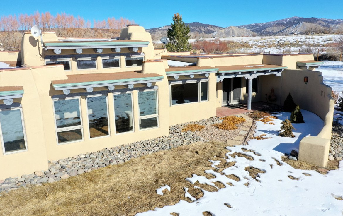 Aerial View of House - 23740 7010 Rd Montrose, CO 81403 - Atha Team Realty