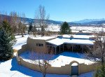 Aerial View of North Facing Courtyard - 23740 7010 Rd Montrose, CO 81403 - Atha Team Realty