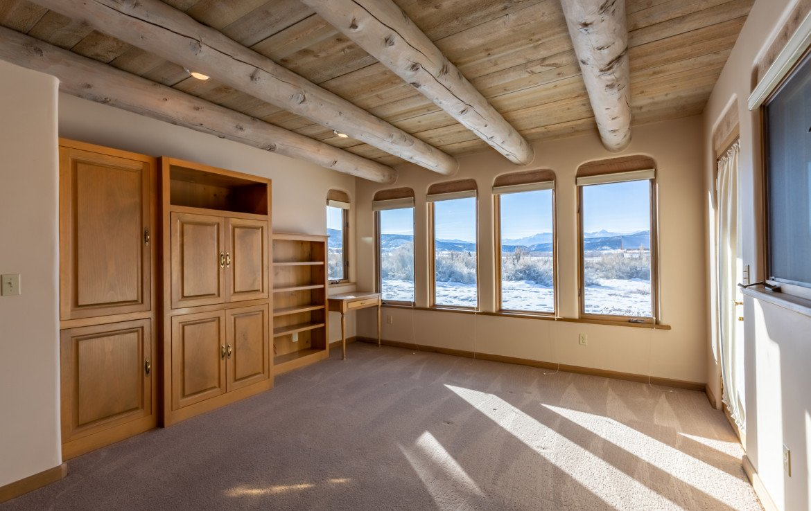 Master Bedroom with Built Ins - 23740 7010 Rd Montrose, CO 81403 - Atha Team Realty