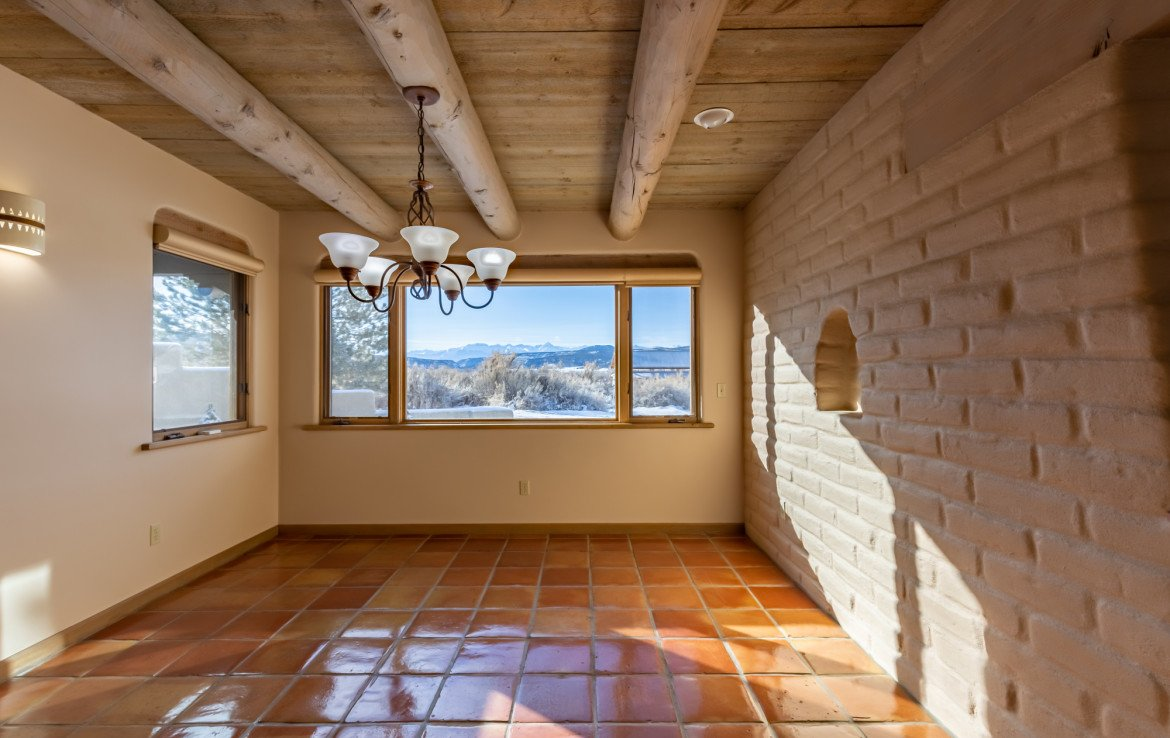 Dining Area - 23740 7010 Rd Montrose, CO 81403 - Atha Team Realty