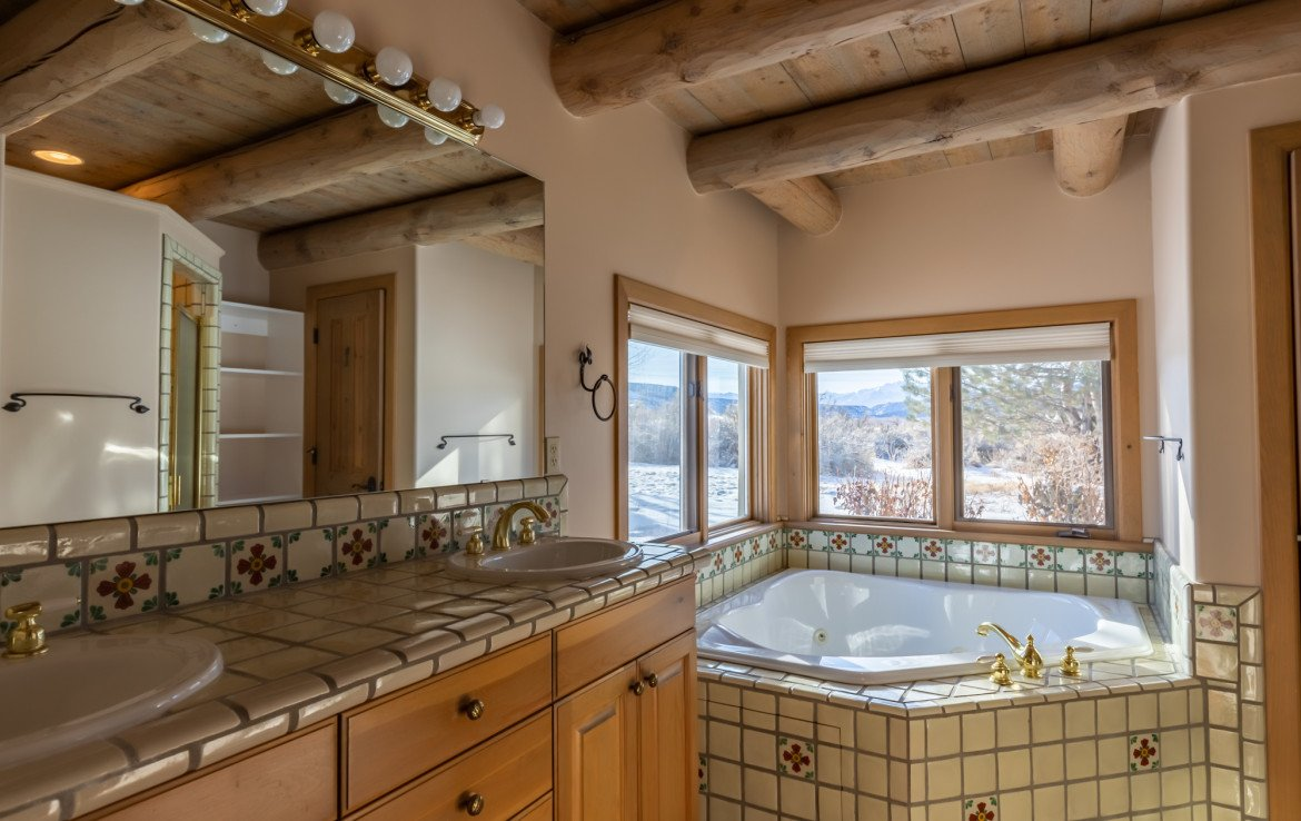 Master Bath with Tub - 23740 7010 Rd Montrose, CO 81403 - Atha Team Realty