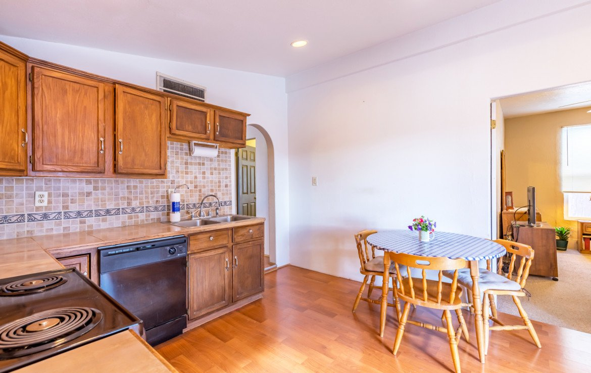 Kitchen Dining Area - 54 W. South 3rd St Montrose, CO 81401 - Atha Team Real Estate Listing